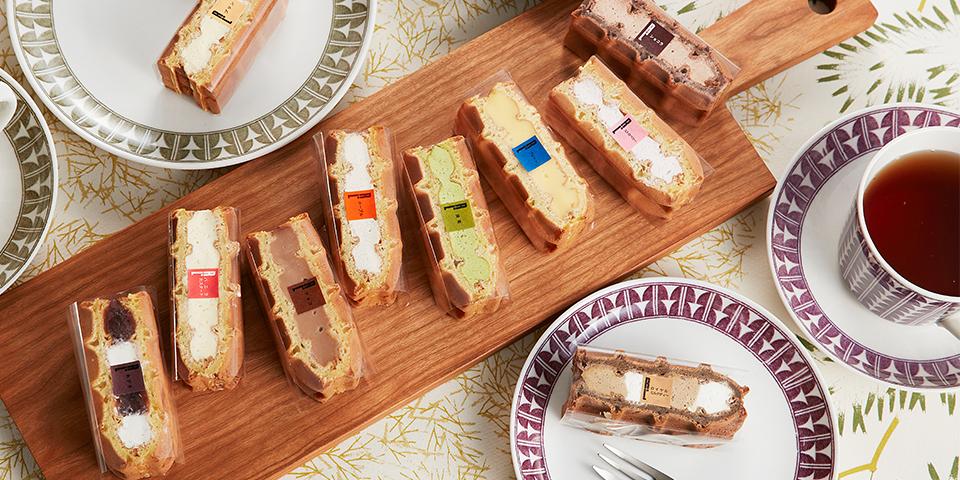 【当店の看板商品】ワッフルケーキ